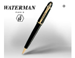 Bolígrafo Negro Sólido Brillante